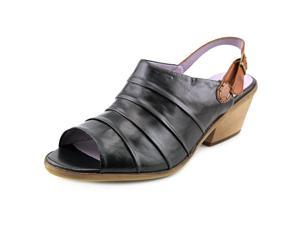 Everybody By BZ Moda Gadino Women US 5 Black Sandals EU 36.5