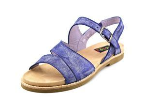 Everybody By BZ Moda Bidda Women US 5 Blue Slingback Sandal EU 36