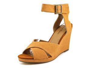 Michael Antonio Gamada Women US 10 Tan Wedge Sandal