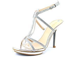 Pelle Moda Randal-MK Women US 7.5 Silver Sandals