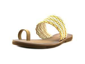 Lucky Brand Baheeti Women US 8 Tan Slides Sandal