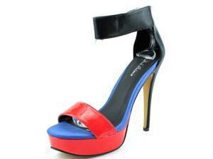 Michael Antonio Tanzi Women US 7.5 Multi Color Sandals