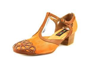 Everybody By BZ Moda Lentile Women US 6.5 Orange Heels