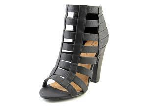 Michael Antonio Jim Women US 6.5 Black Sandals