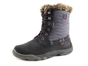 Sperry Top Sider Winter Harbor Women US 8 Black Winter Boot
