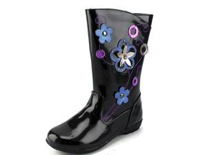Unlisted Kenneth Cole Grow a Bit Youth US 11 Black Rain Boot