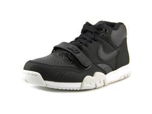 Nike Air Trainer 1 Mid  Men US 8 Black Basketball Shoe