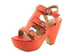 Michael Antonio Tartini Women US 6.5 Pink Platform Sandal