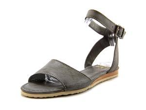 Frye Mandy Ankle Women US 7 Gray Gladiator Sandal