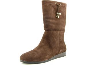 Kors Michael Kors Lizzie Mid Boot Women US 11 Brown Ankle Boot