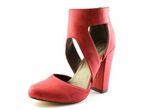 Michael Antonio Jeneil  Women US 6.5 Red Platform Heel