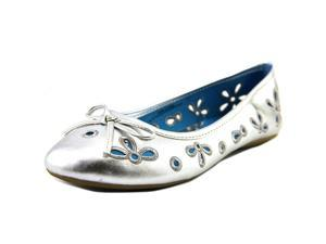 Sperry Top Sider Luna Youth US 3 Silver Flats UK 2.5 EU 35