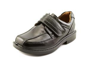 Hush Puppies Oberlin Youth US 9 Black Loafer