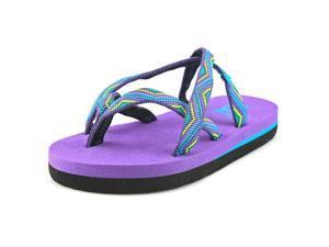 Teva Olowahu Toddler US 8 Purple Thong Sandal