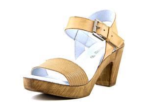 Eric Michael Dallas Women US 10.5 Brown Platform Sandal EU 41