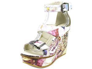 Diesel Zoey Women US 9 Multi Color Wedge Sandal EU 40