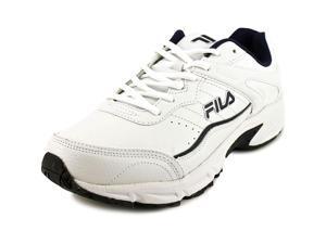 Fila Memory Sportland Men US 13 4E White Running Shoe