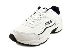 Fila Memory Sportland Men US 9 White Running Shoe
