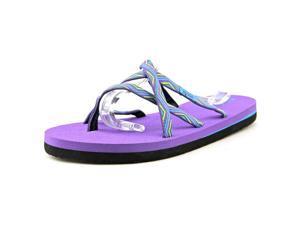 Teva Olowahu Youth US 6 Purple Flip Flop Sandal