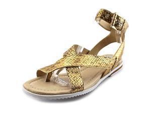 Donald J Pliner Lyla Women US 7.5 Gold Gladiator Sandal