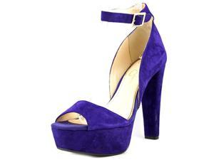 Jessica Simpson Athens Women US 7 Purple Peep Toe Platform Heel