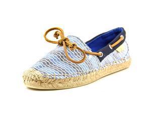 Sperry Top Sider Katama Boat Shoe Women US 9.5 Blue Espadrille