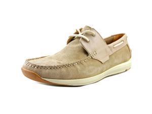 Kenneth Cole Reactio Met-Ro Station Men US 7.5 Tan Boat Shoe
