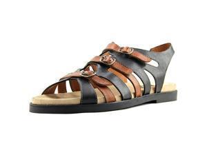 Everybody By BZ Moda Ideal Women US 9.5 Black Slingback Sandal