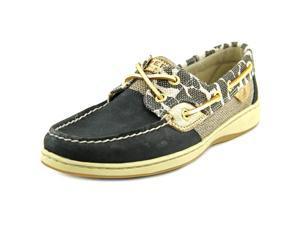 Sperry Top Sider Bluefish Women US 7.5 Black Boat Shoe