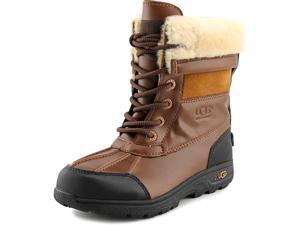 Ugg Australia K Butte II Youth US 13 Brown Snow Boot