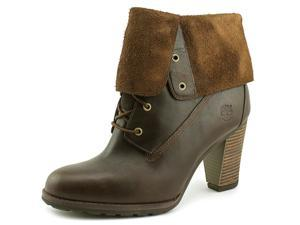 Timberland Earthkeepers Stratham Heights Women US 8.5 Brown Bootie