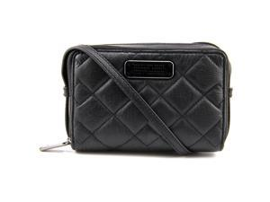 Marc By Marc Jacobs Crosby Quilt Leather Gemini Women Black NWT