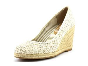 Unlisted Kenneth Cole Finally Women US 6 Ivory Wedge Sandal