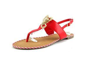Unlisted Kenneth Col Lobster Stand Women US 6.5 Red Sandals