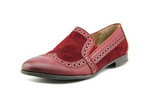 Franco Sarto Tibby Women US 5.5 Burgundy Wingtip Loafer UK 3.5 EU 35.5