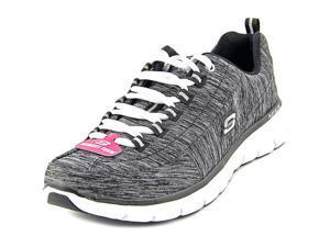 Skechers Synergy Sport on Women US 8.5 Black Sneakers