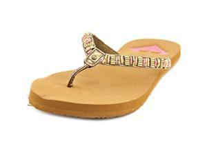 Roxy Alani Women US 6 Brown Flip Flop Sandal