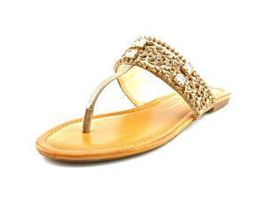 Jessica Simpson Rockford Women US 6.5 Gold Sandals