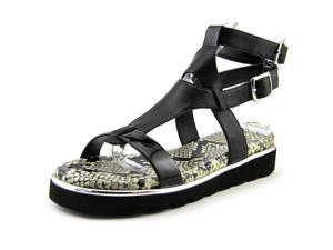 Donald J Pliner Lido 26 Women US 8.5 Black Wedge Sandal
