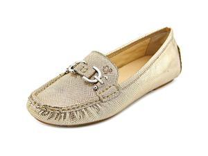Donald J Pliner Viky Women US 6.5 Gold Moc Loafer