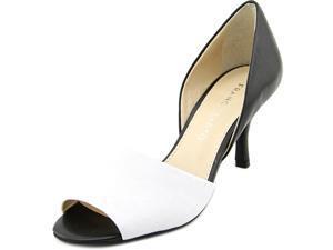 Franco Sarto Ilsa Women US 11 White Peep Toe Heels