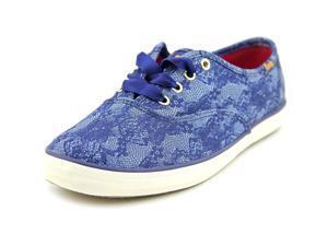Keds Ch Denim/Lace Women US 5 Blue Sneakers