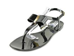 Steve Madden Fiiji Women US 10 Black Thong Sandal