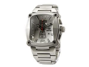 Reactor Nucleus 57002 Stainless Steel Silver Men Watch