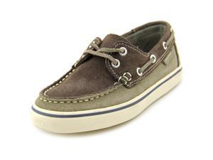 Superga Suej Youth US 12.5 Brown Boat Shoe