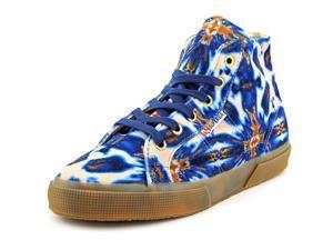 Superga Velvetolmow Women US 8 Blue Sneakers