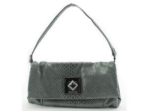 Kenneth Cole Reaction Shop Around Women Gray Clutch NWT