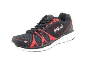 Fila Shadow Sprinter Men US 9.5 Black Running Shoe