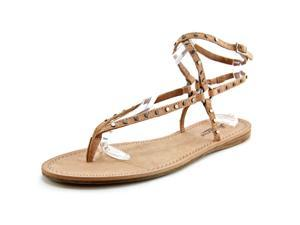 Lucky Brand Adivita Women US 8.5 Tan Thong Sandal