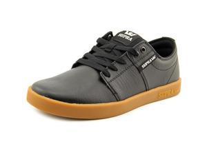 Supra Stacks II Men US 8 Black Skate Shoe